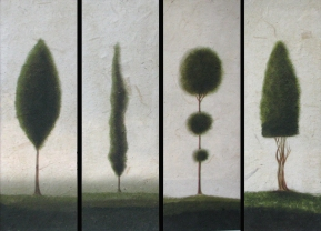 4_topiaries_on_paper__black_bckgrd